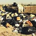 L'Amiu non raccoglie i rifiuti: a Boccadoro si forma una discarica