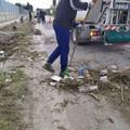 Una domenica di grandi pulizie del canale accanto al carcere con i detenuti