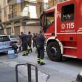 Via San Gervasio: Polizia e Vigili del Fuoco  in forza per salvare un gattino