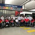 Il furgone di Oltresport riconsegnato alla squadra: un atto di generosità e amore da una ditta barese