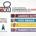 Candidati sindaci a confronto su Traniviva
