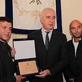 L'amministrazione di Trani premia Stefano Scarpa