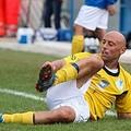 Il centrocampista biancazzurro Giovanni Campo su Amica 9