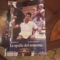 """""""La spalla del tennista """": il nuovo libro dei tranesi Davide Zambrano e Rodolfo Lisi"""
