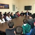 """Gli studenti della scuola Rocca a  """"tu per tu """" con il sindaco"""