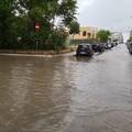 """Basta"" un temporale e la città va in tilt: tanti i disagi a Trani"
