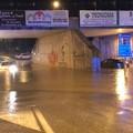 Violento temporale su Trani, ancora auto bloccate al sottovia