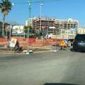 Al via i lavori di rifacimento della rotonda in via Istria