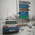 Neve in Puglia, Emiliano: «Protezione civile attiva h24, raccomandiamo prudenza sulle strade»