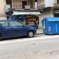 Maltempo a Trani, danni al chiosco dismesso in via Malcangi