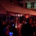 """Via Lagalante si anima con il  """"silent party """": centinaia i partecipanti"""