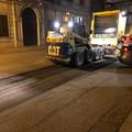 Al via gli interventi di rifacimento del manto stradale in diverse strade di Trani