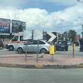 Auto contro scooter in via Andria: un ferito