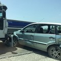 Ancora un incidente sulla SS16bis, disagi all'uscita Trani-Boccadoro