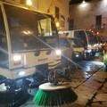 Lavaggi igienizzanti a Trani, oggi operai in azione a partire dalle ore 14