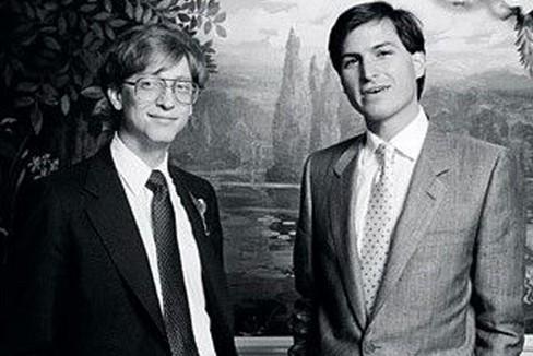 Bill Gates e Steve Jobs