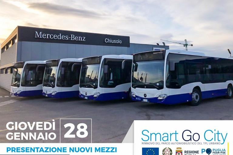 Quattro nuovi bus