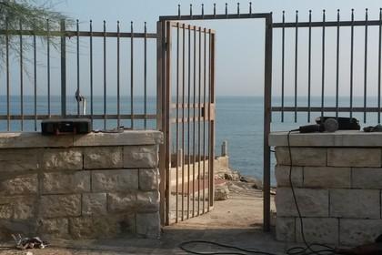 cancello la vela lido accesso al mare