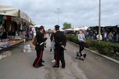 carabinieri mercato Andria