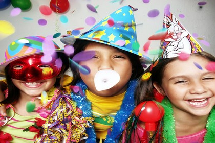 Carnevale, festa in maschera dei bambini