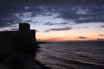 Castello Svevo di Trani - Tramonto