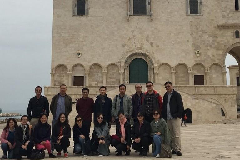 Foto delegazione cinese