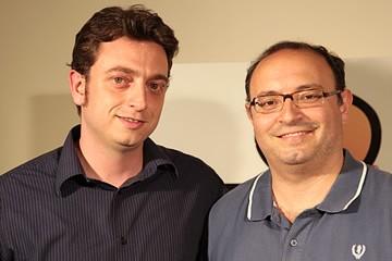 Claudio Biancolillo e Giovanni Ronco