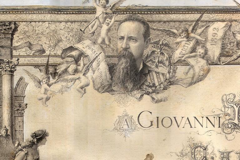 Pergamena Giovanni Bovio