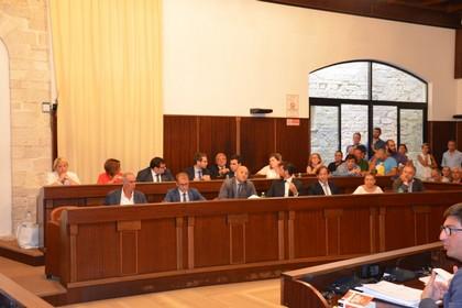 Consiglio comunale - maggioranza