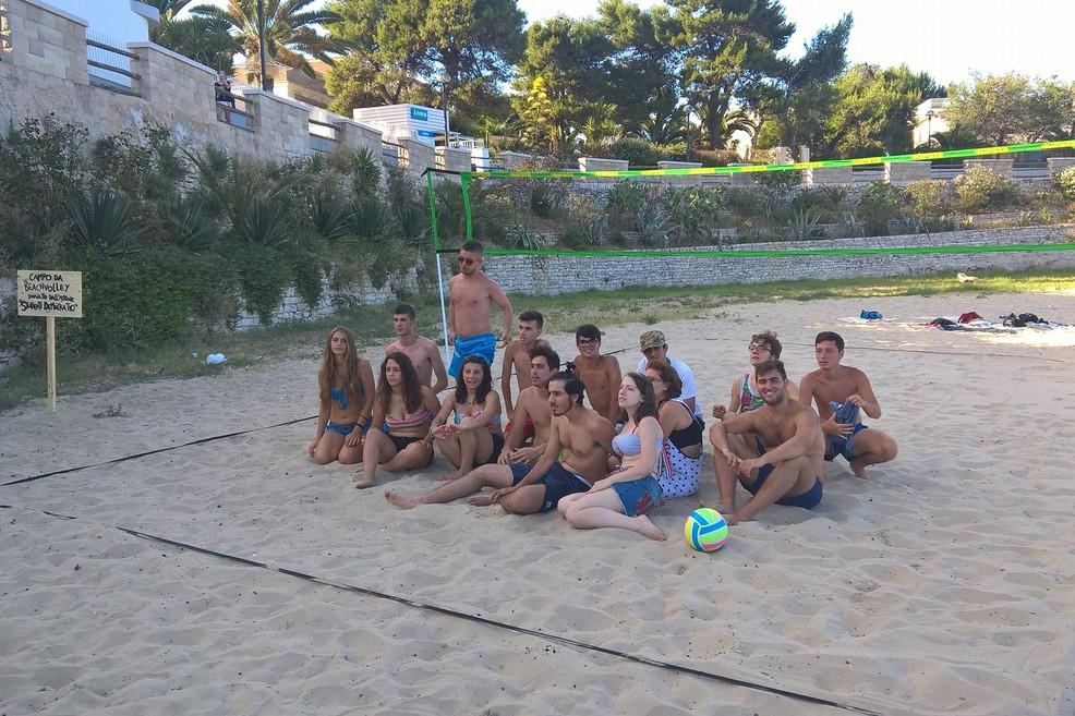 beach volley studenti democratici