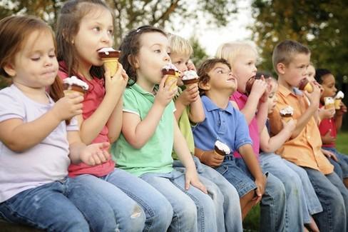 gelato bambini