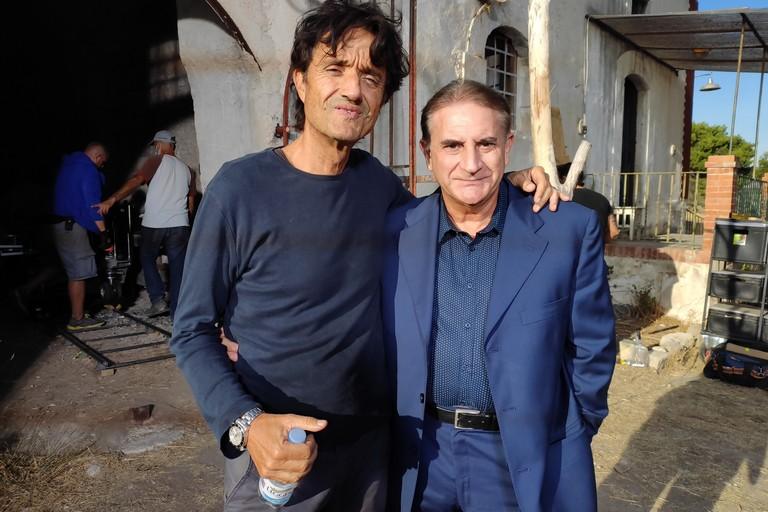 Giulio Base ed Enzo Matichecchia