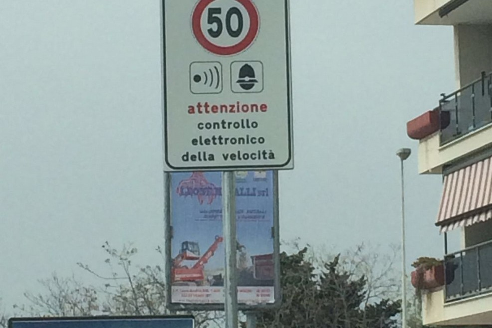 Autovelox via Falcone