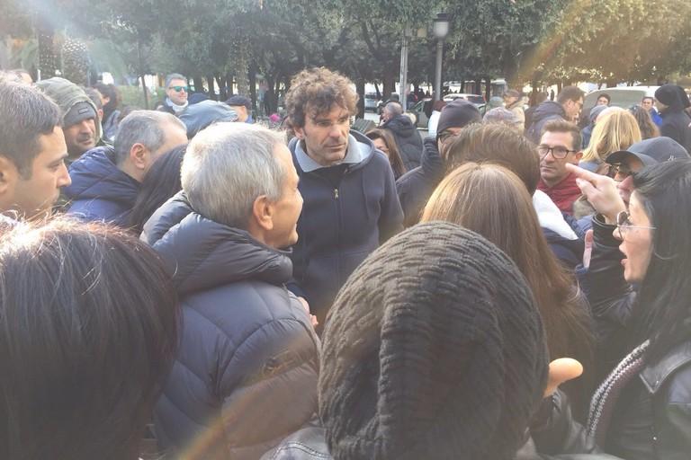 Discarica, i tranesi in piazza per chiedere bonifica e messa in sicurezza