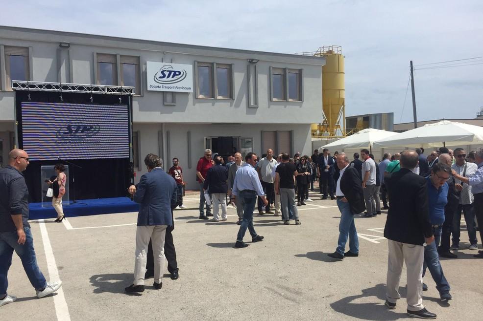 inaugurazione  nuova sede Stp