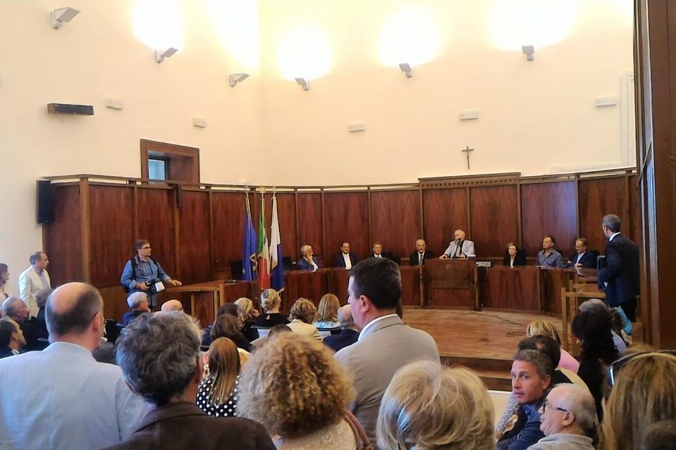 Tribunale di Trani, aula di Corte d'Assise