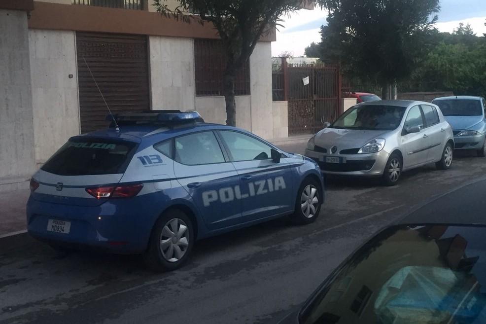 spari in via Cilea, la polizia sul posto