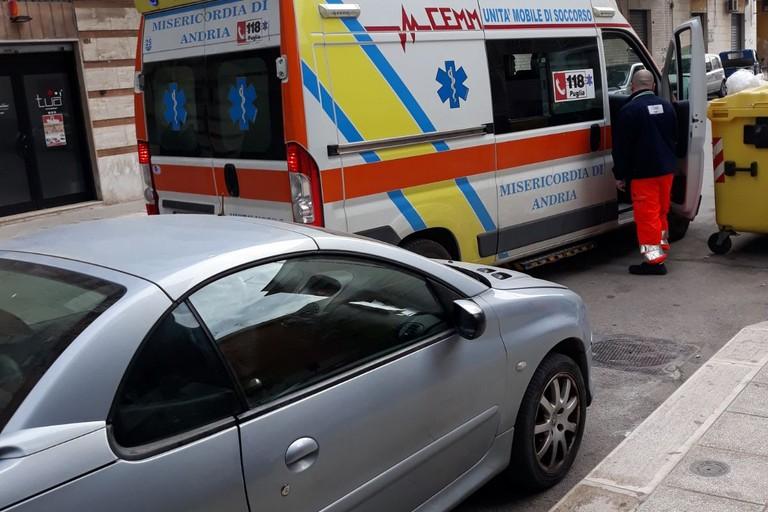 13enne ferito in via Tommaso Perna