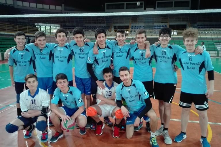 Liceo Vecchi, squadra di pallavolo