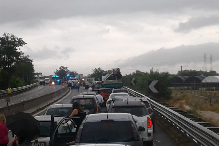 Incidente Trani Bisceglie