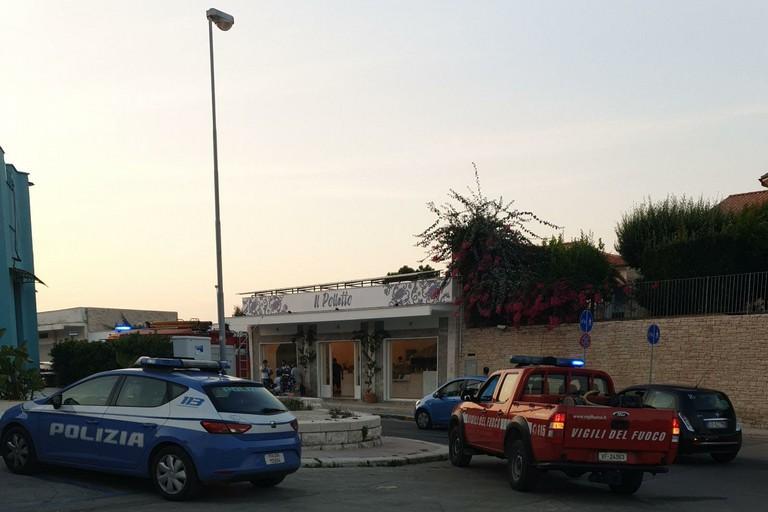 Incendio piazza Marinai d'Italia
