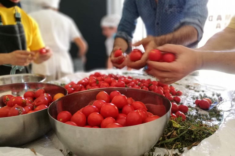 La salsa pugliese, gli alunni di Trani e Legambiente