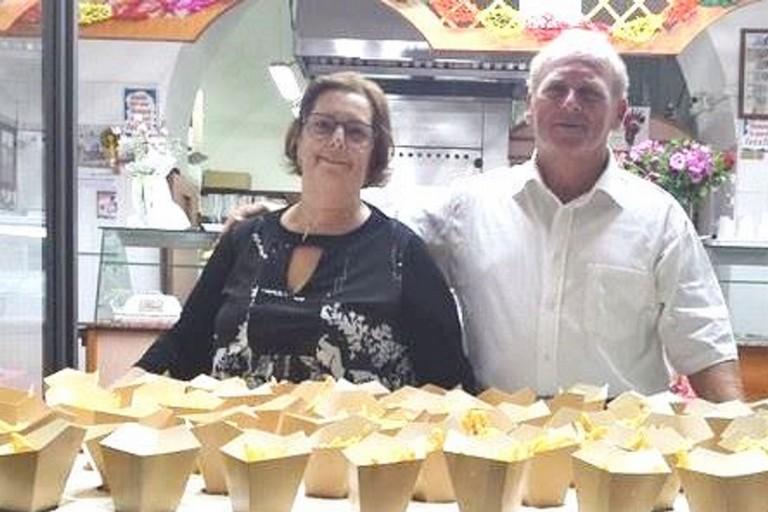 Michele Tarantini e moglie