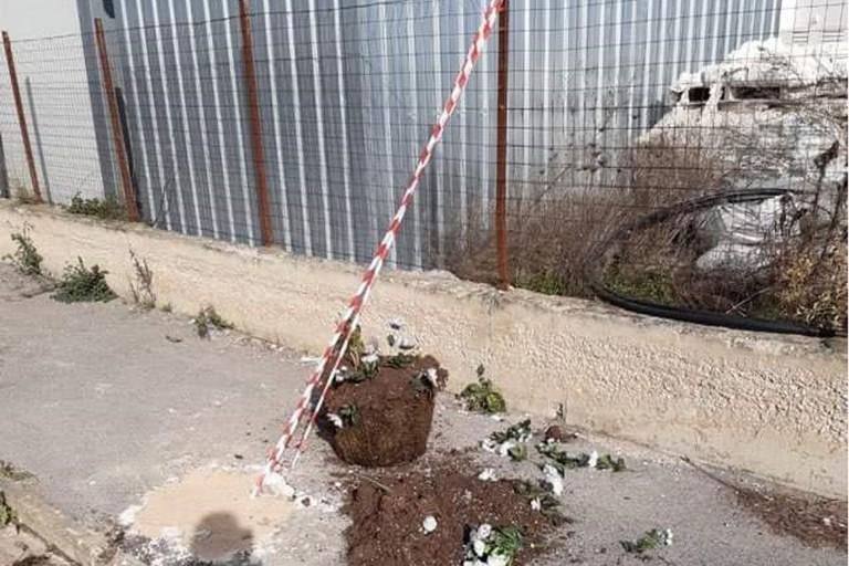 Altare distrutto Raffaele Casale