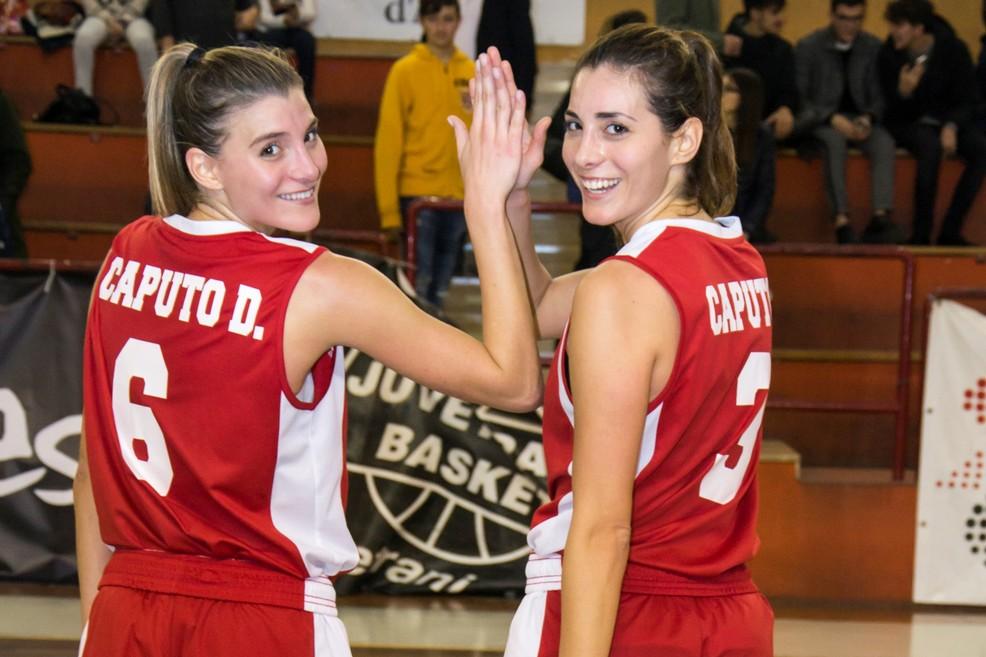 Olimpia basket - le sorelle Caputo