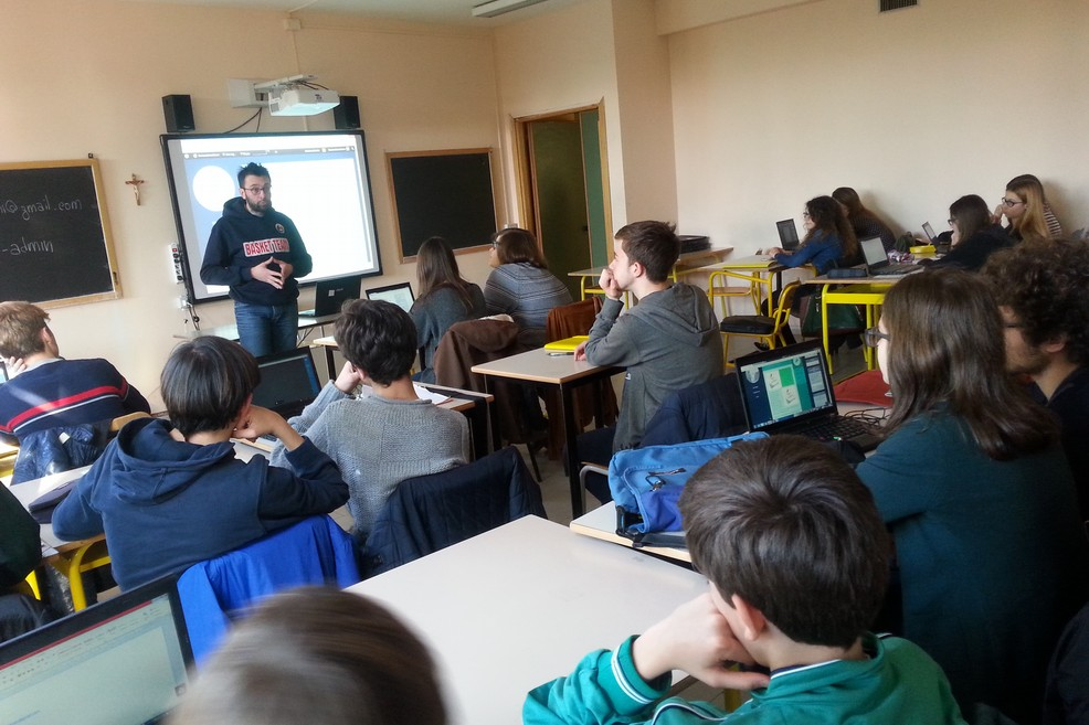 classe liceo scientifico Vecchi