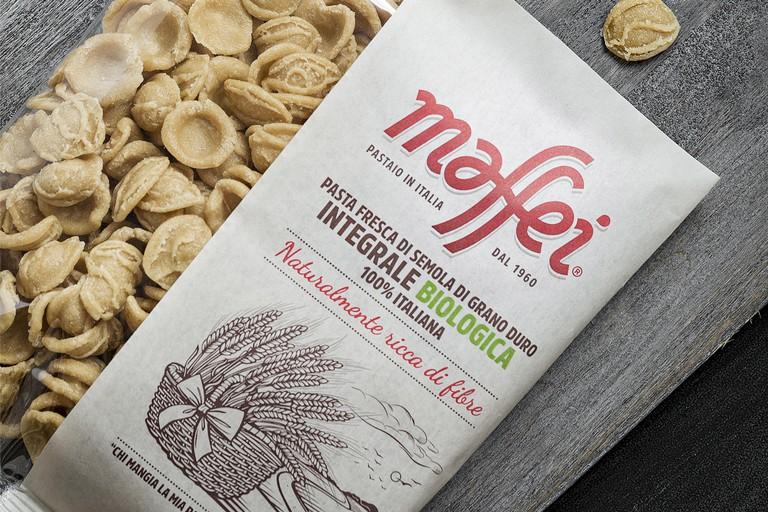 Pasta fresca integrale biologica di Maffei