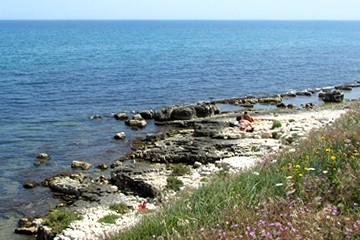 Mare, costa a sud delle Matinelle