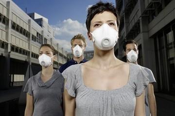 Perone con mascherine - immagine generica