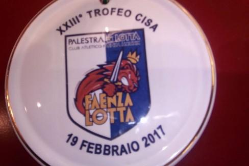 Medaglia Judo Trani al Trofeo di Faenza
